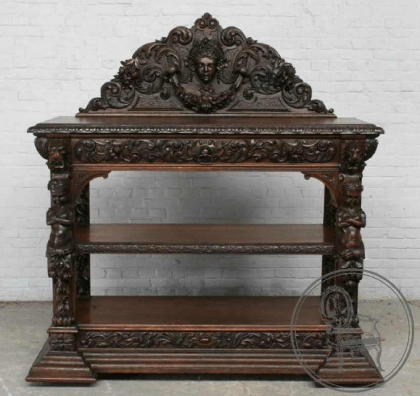 Antique Cabinet nineteenth century - photo 1
