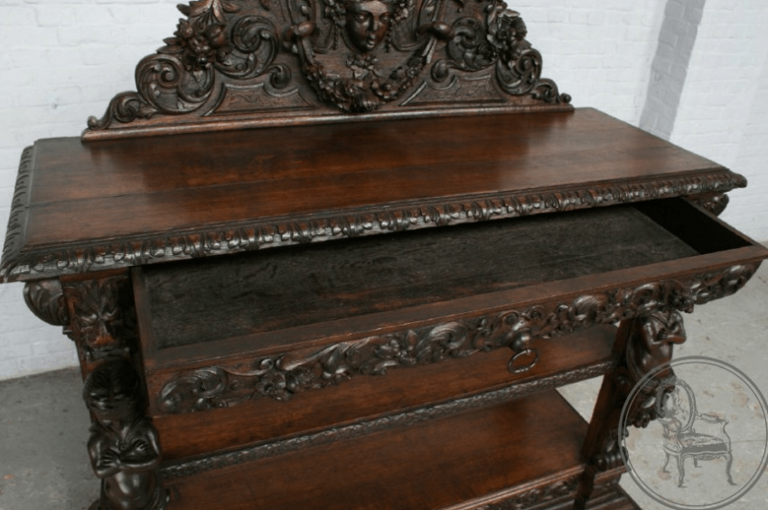 Antique Cabinet nineteenth century - photo 4