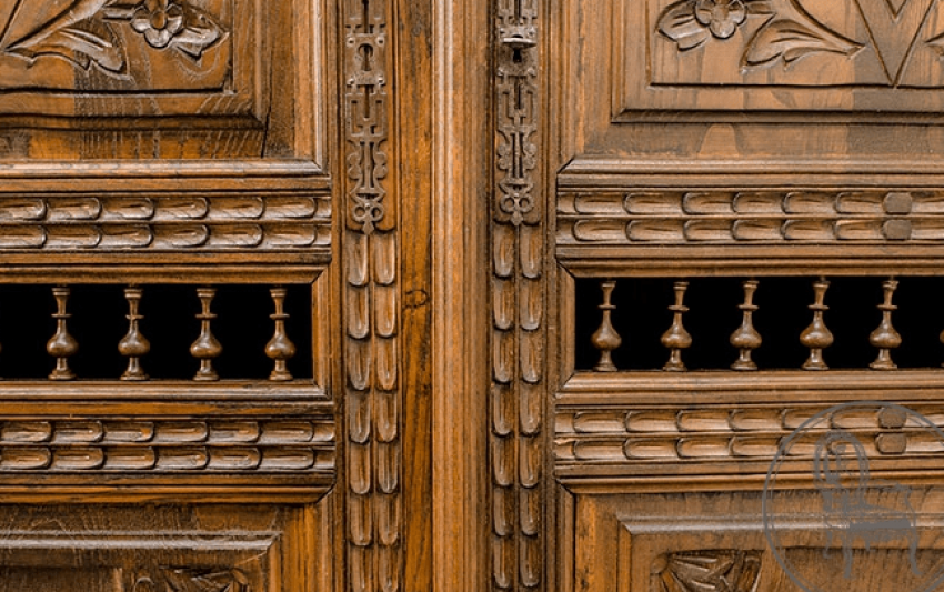 Antique bookcase - photo 3