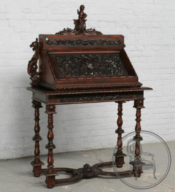 Antique secretaire XIXth century - photo 1