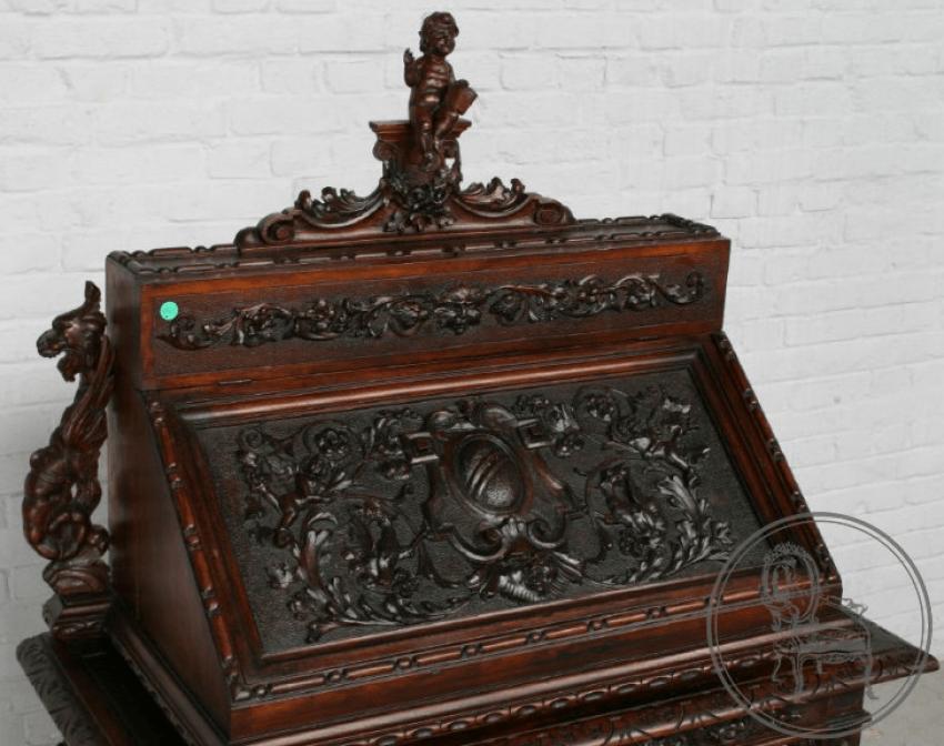 Antique secretaire XIXth century - photo 2