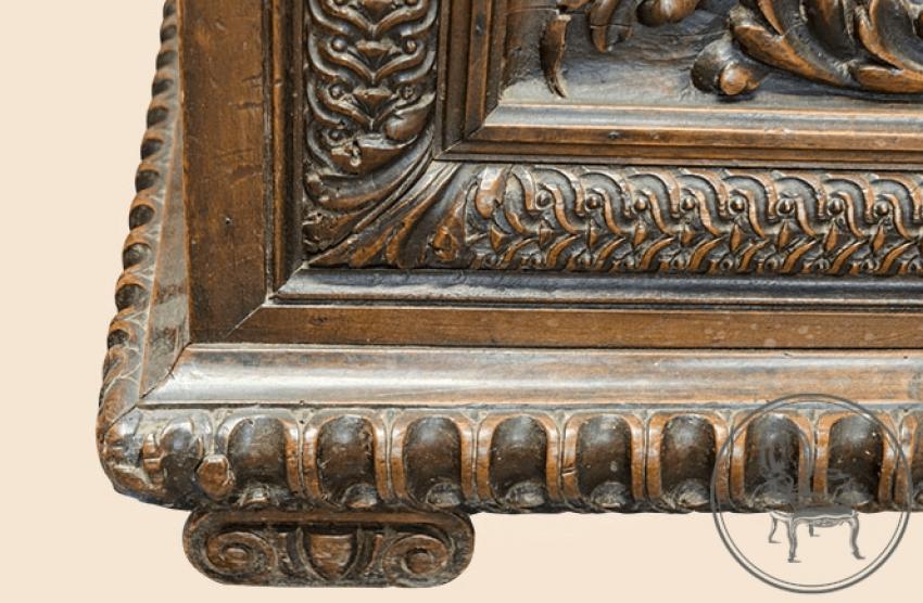 Antique bench of the XIX century - photo 5