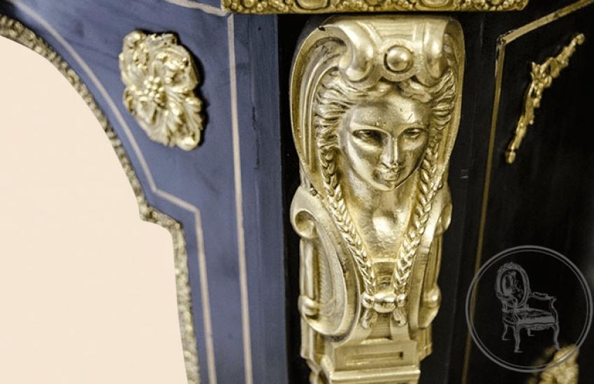 Antique showcase of the XIX century - photo 4