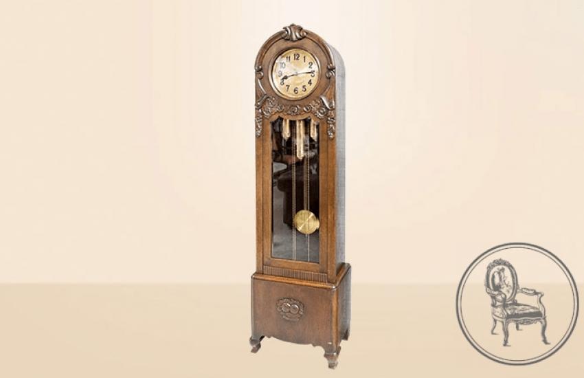 Antique grandfather clock - photo 2