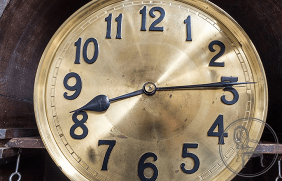 Antique grandfather clock - photo 4