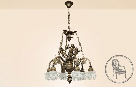 Vintage chandelier XX century - photo 1