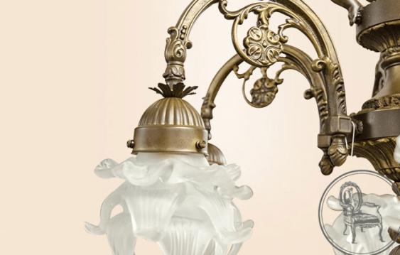 Vintage chandelier XX century - photo 2