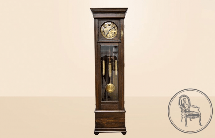 Antique grandfather clock - photo 1