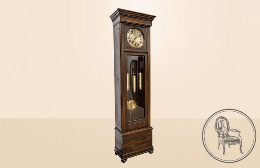 Antique grandfather clock - photo 2