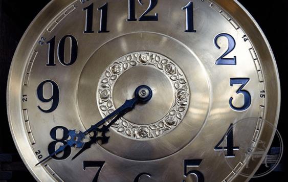 Antique grandfather clock - photo 3