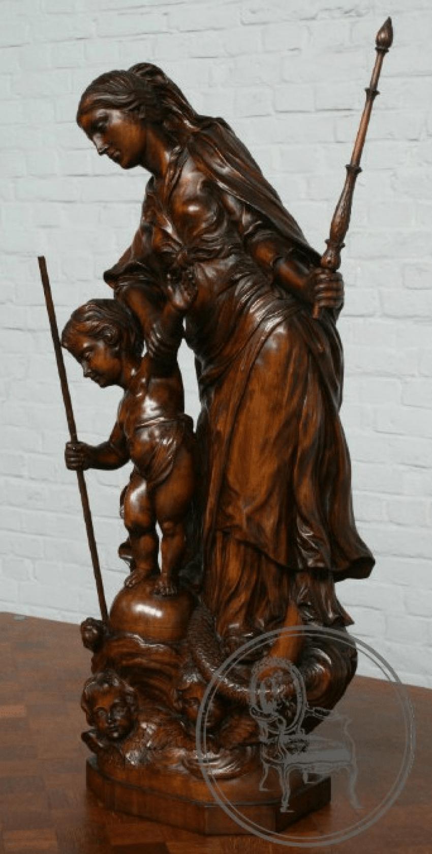 Antique statue - photo 4