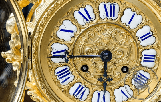 Antique mantel clock - photo 4