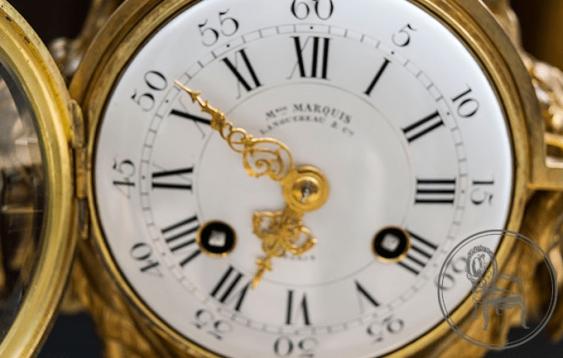Antique mantel clock - photo 2