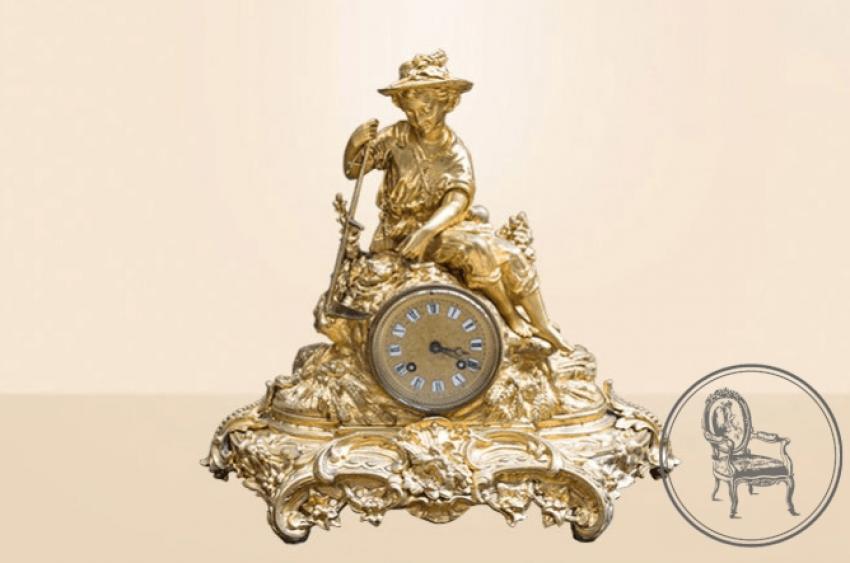 Antique mantel clock - photo 1