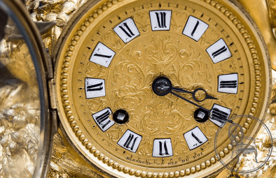 Antique mantel clock - photo 5