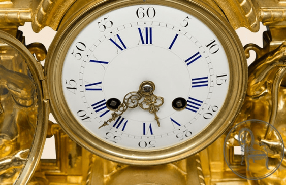 Antique mantel clock - photo 3