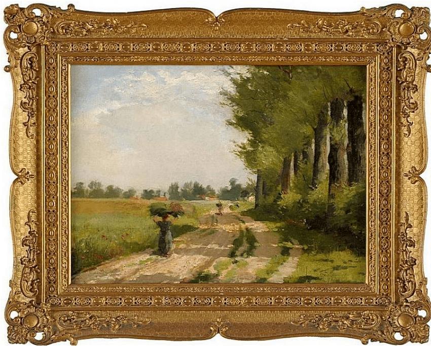 Western Europe, late XIX century, oil on canvas - photo 1