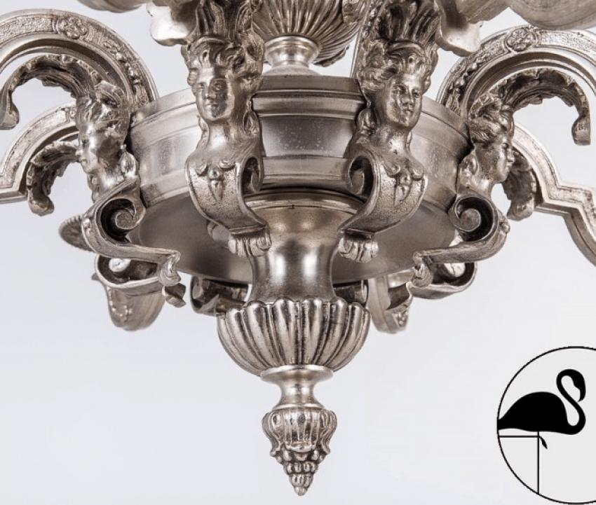 Le lustre du XXE siècle, Bronze, Argent sterling - photo 5
