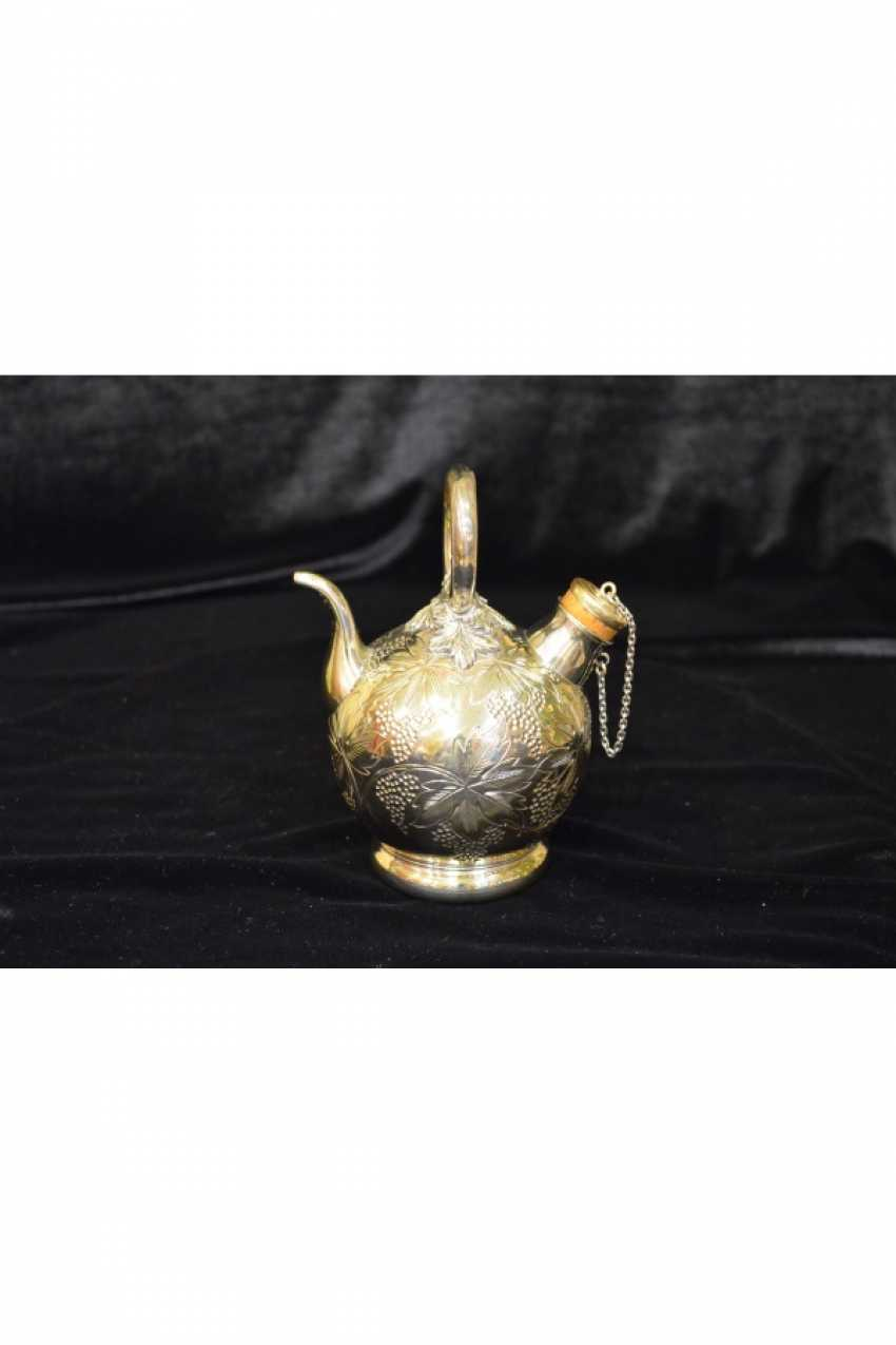 Antique silver teapots - photo 2