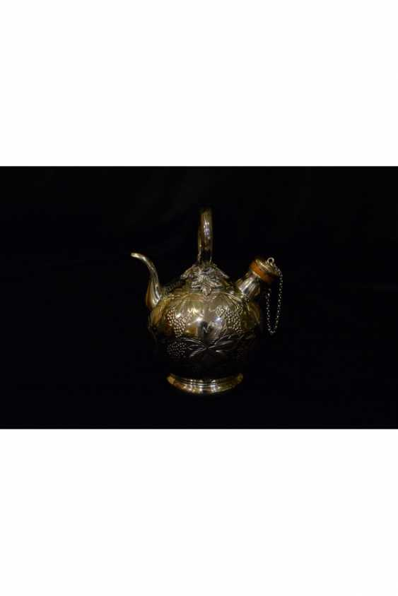 Antique silver teapots - photo 3