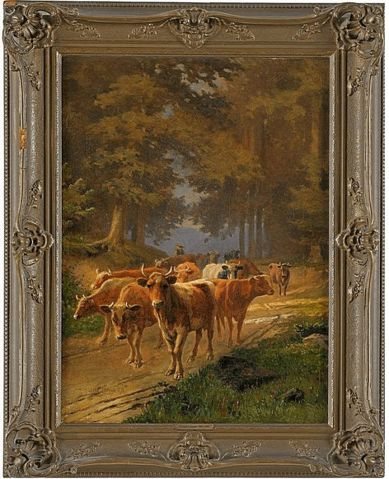 Western Europe, late XIX century, oil on canvas - photo 1