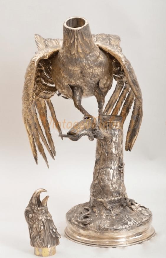 Pheasant silver сер19 century - photo 2