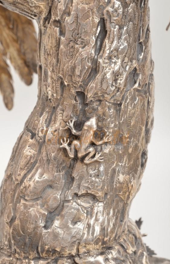 Pheasant silver сер19 century - photo 6