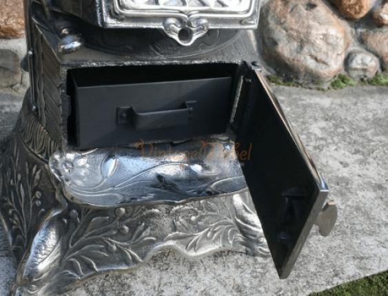 Antique cast iron stove - photo 4