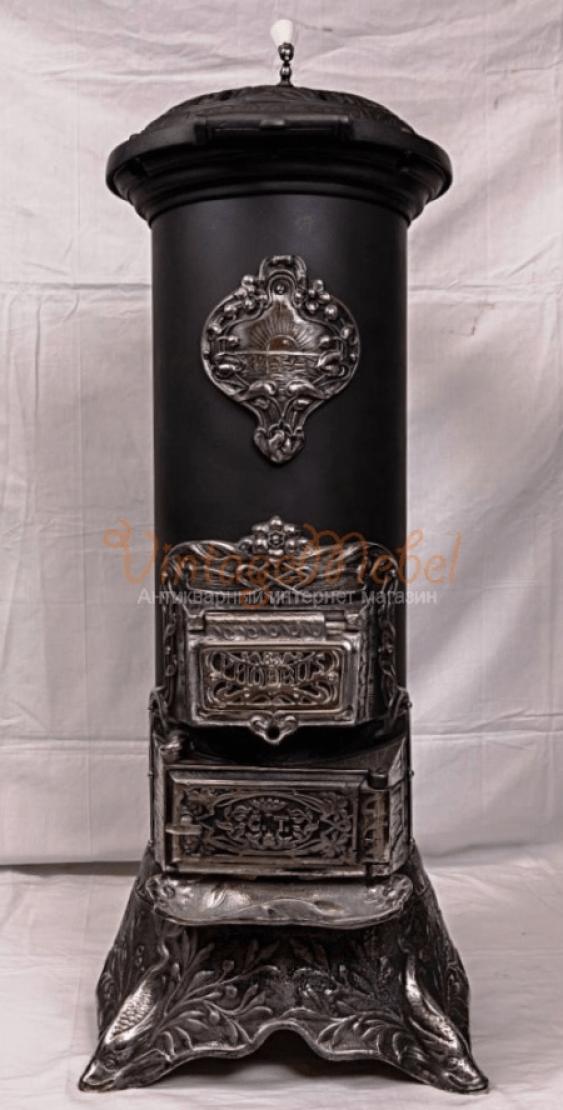 Antique cast iron stove - photo 1