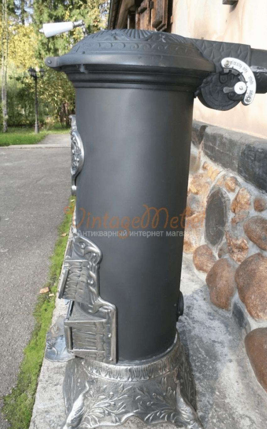 Antique cast iron stove - photo 5