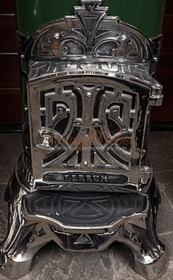 Antique cast iron stove - photo 3