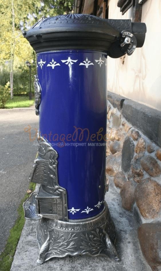 Antique stove cast iron - photo 3
