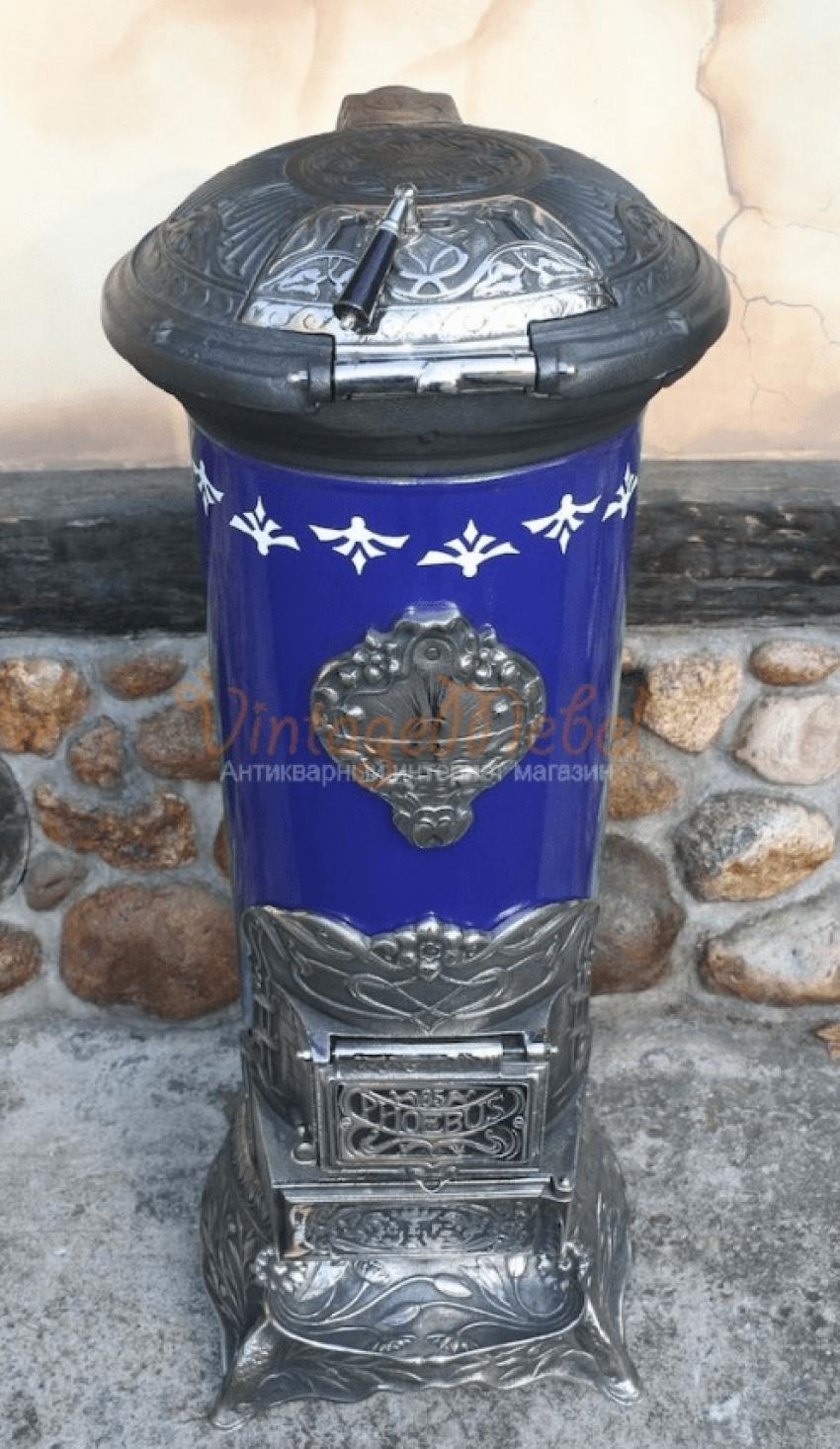 Antique stove cast iron - photo 4