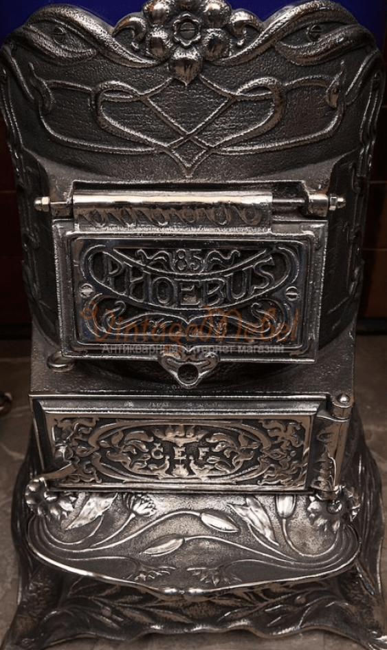 Antique stove cast iron - photo 5