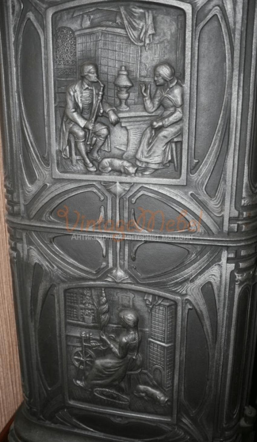 German cast iron stove - photo 3