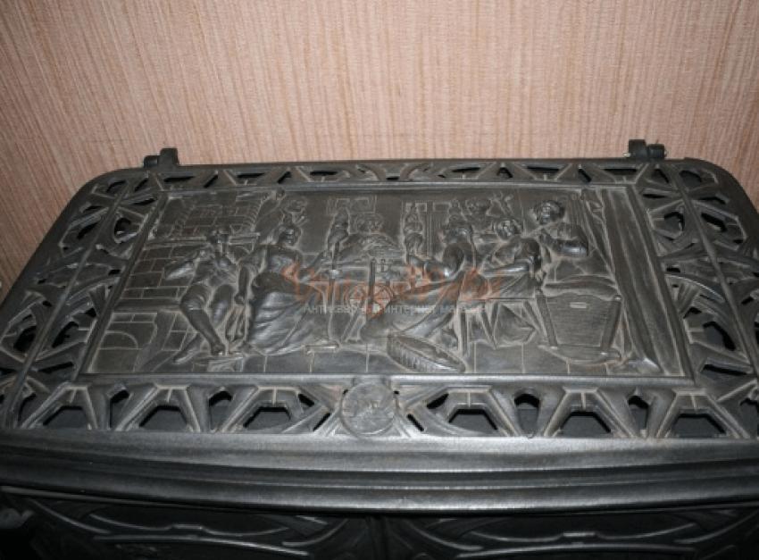 German cast iron stove - photo 4