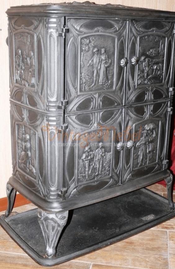 German cast iron stove - photo 1