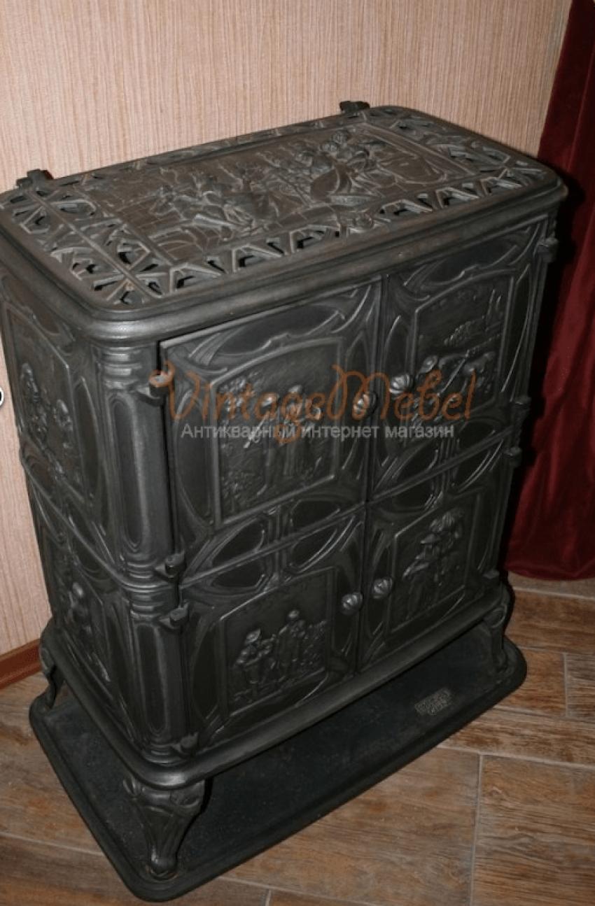 German cast iron stove - photo 6
