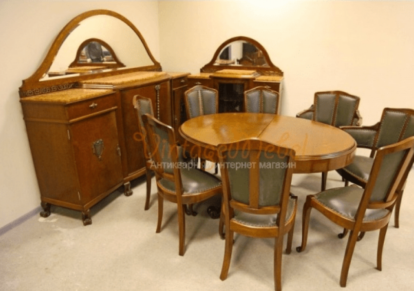 Dining room in Art Deco style - photo 1