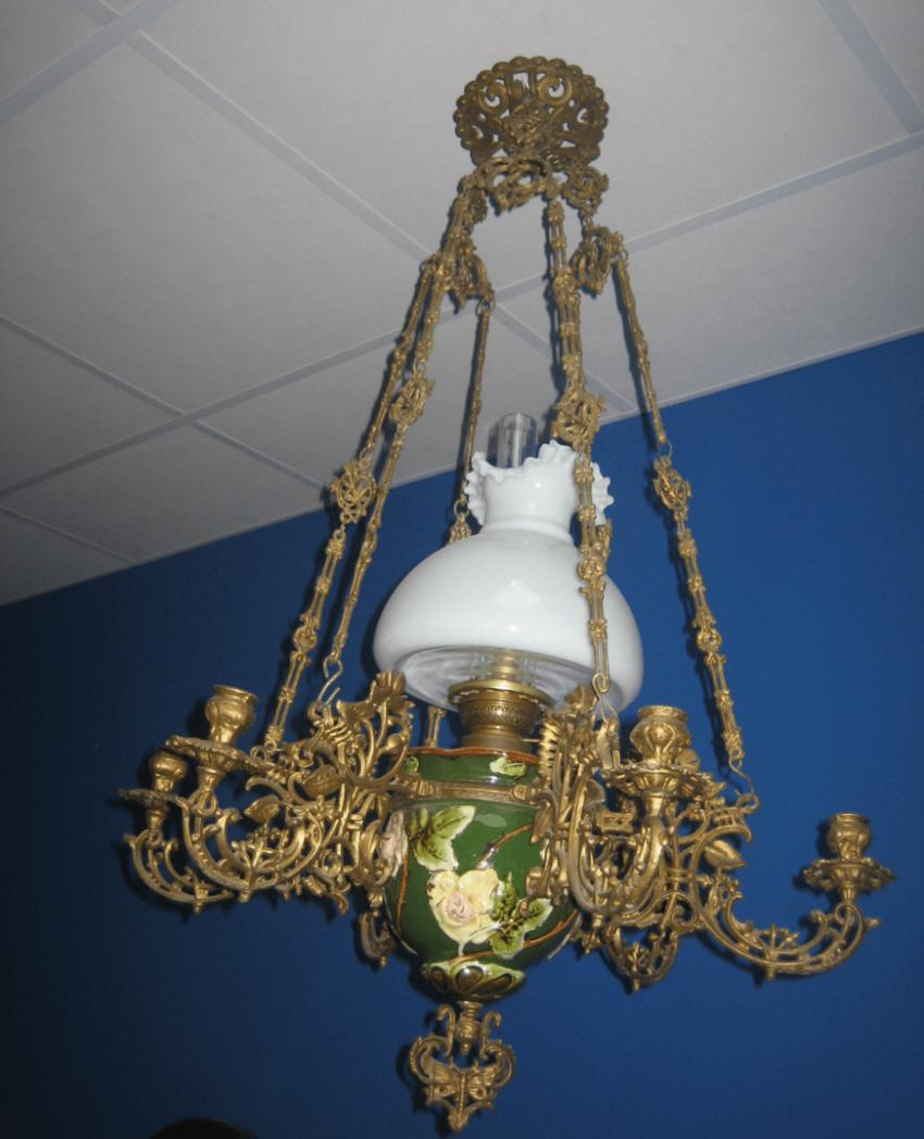 Chandelier lamp 1890. - photo 1