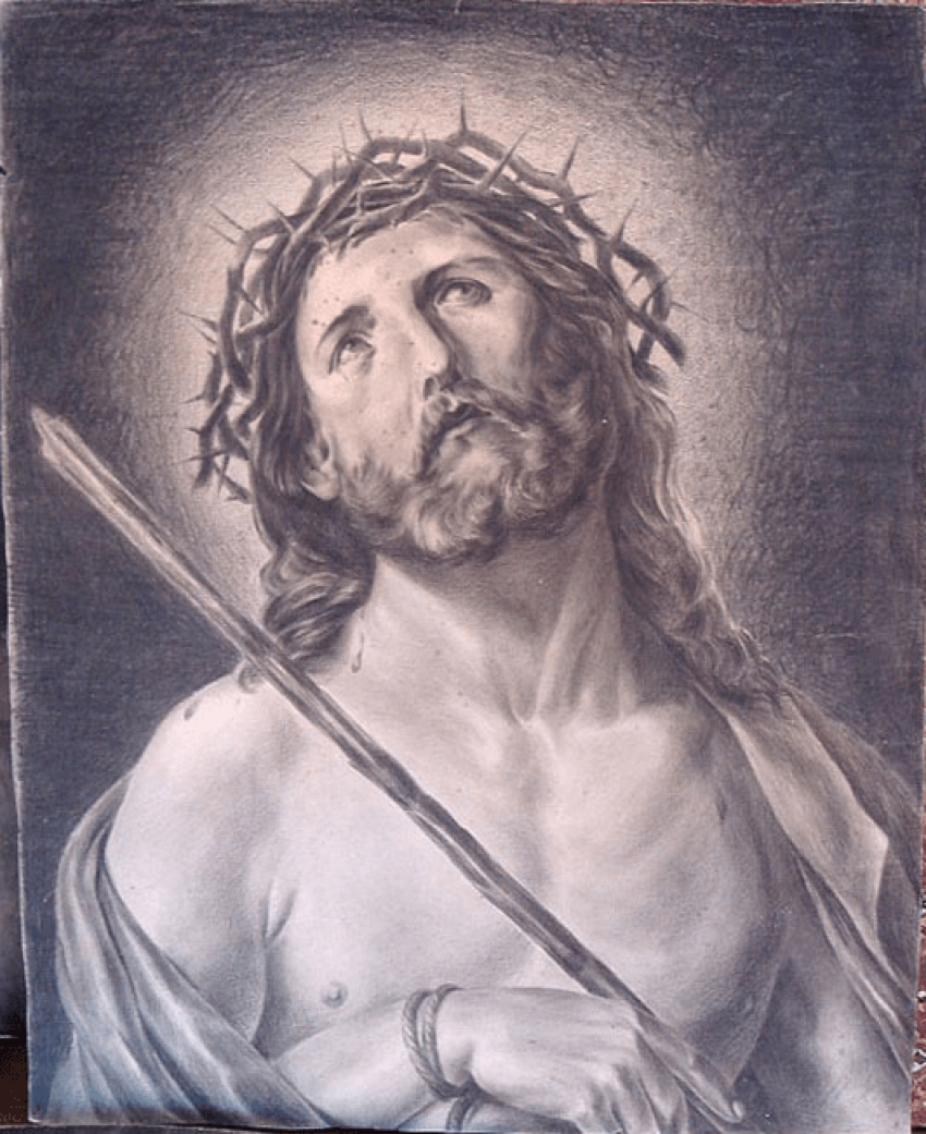 """""""Savior in a crown of thorns"""" - photo 1"""