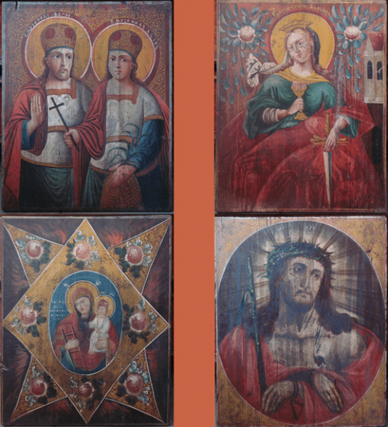 the icons of the late XVIII - beginning of XX century in - photo 1