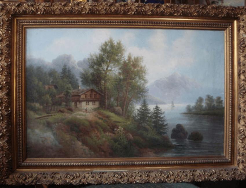 """L'image de la """"Maison de la rivière-du XIXE siècle - photo 1"""