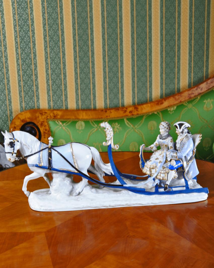 Meissen, Germany, 1910-e gg, porcelain, overglaze polychrome painting, sculpture - photo 1