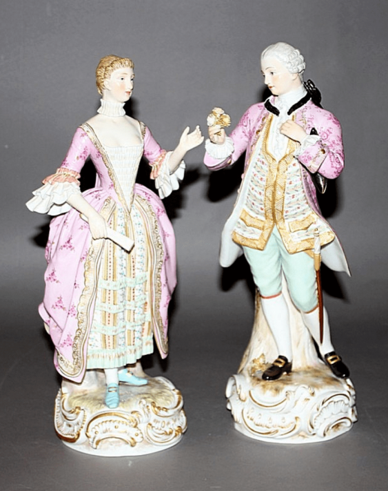Meissen, Germany, 1863 - 1865 - years, the model author M. V. issue year (1764 - 1766) - photo 1