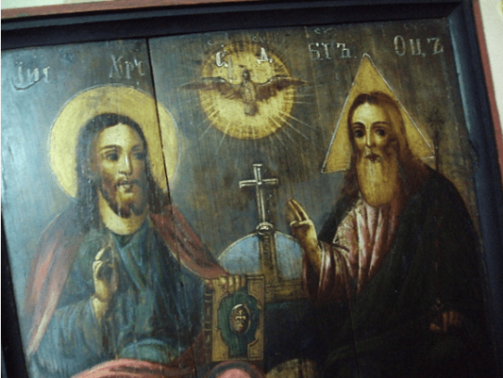 The icon of the Trinity most - photo 2