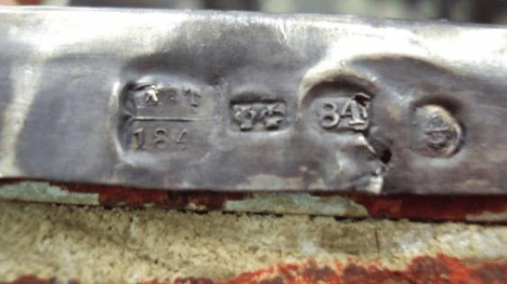 Ikone der Heiligen Mitrofan in Silber - Foto 7