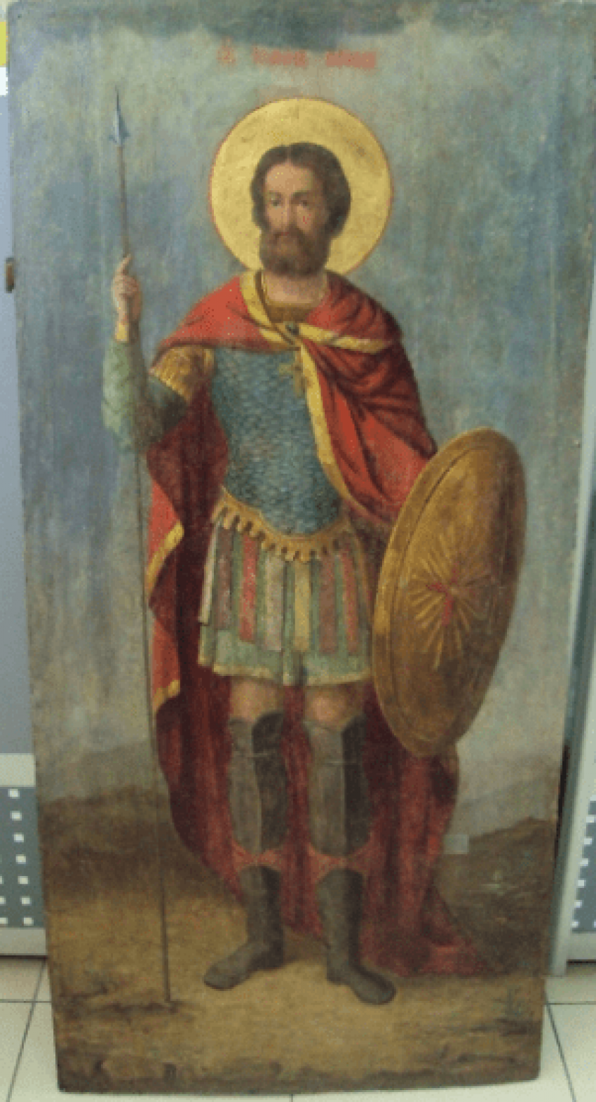 the icon of Ivan the Warrior 107.5 cm - photo 1