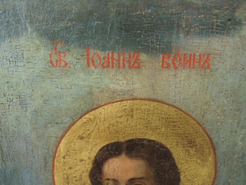the icon of Ivan the Warrior 107.5 cm - photo 3