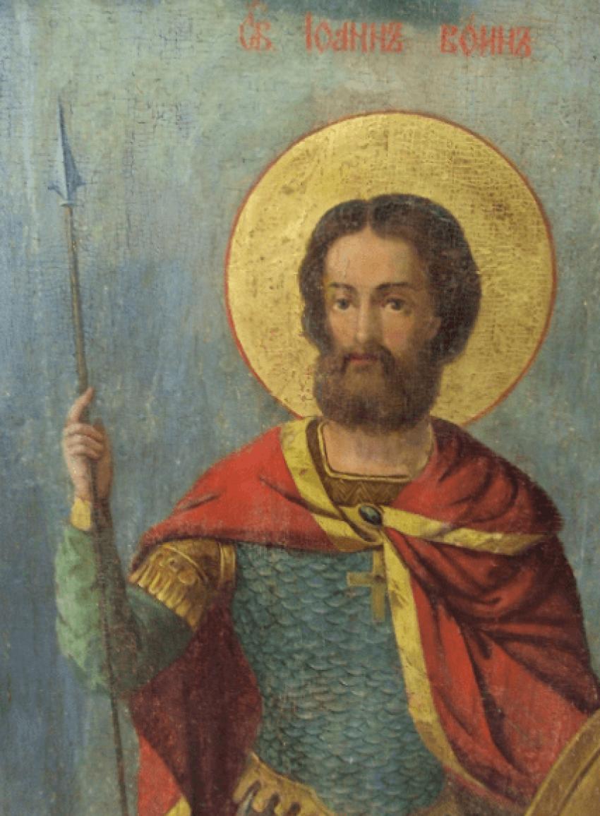 the icon of Ivan the Warrior 107.5 cm - photo 2